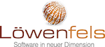 Loewenfels Logo mit einem Link auf ihre Website.