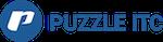 Puzzle Logo mit einem Link auf ihre Website.